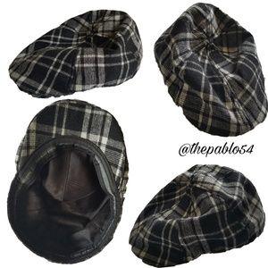 Men's Perry Ellis Plaid Hat